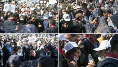 Ankara Emniyet Müdürlüğü avukatların polislere saldırdığını öne sürdü