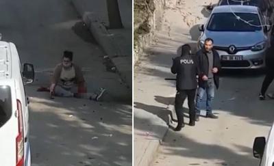 Ankara'da eski eşi tarafından sokak ortasında bıçaklandı