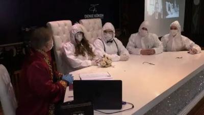 Ankara'da sağlık çalışanlarının nikahlarından ücret alınmayacak