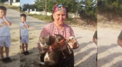Anne kedi ve 3 yavrusu çuval içinde su kanalına atıldı!