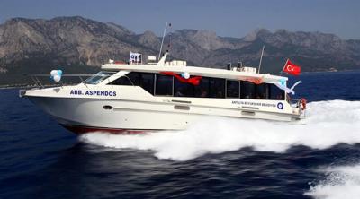 Antalya'da, deniz otobüsü seferleri sonlandırıldı