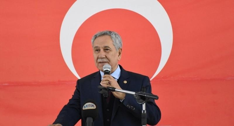 Arınç konuşurken MHP'liler salonu terk etti