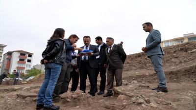 Arkeolojik kazıda 8 bin yıllık evlere ulaşıldı