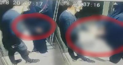Asansördeki tacizci gözaltına alındı