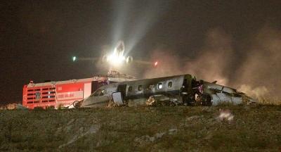 Atatürk Havalimanı'na iniş yapmaya çalışan jet düştü