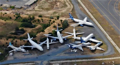 Atatürk Havalimanı'nda bırakılan 16 uçağın sahibi çıkmadı