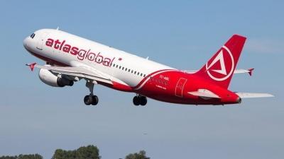 Atlasglobal'in uçuşları borç yüzünden durduruldu