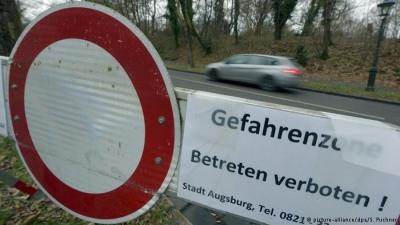 Augsburg'ta İkinci Dünya Savaşından kalma bomba keşfedildi