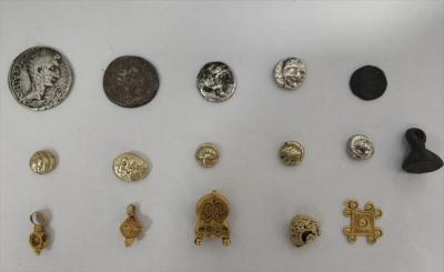AVM'de tarihi eser satan kişi gözaltına alındı