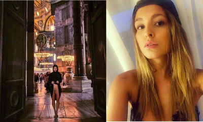 Ayasofya'da çıplak poz veren Marisa Papen'e soruşturma