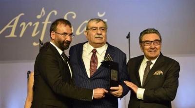 Aydın Doğan Ödülü Arif Sağ'a verildi