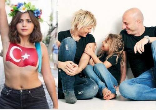 Ayşe Arman FEMEN oldu!