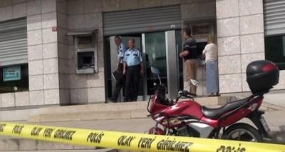Bağcılar'da banka soygunu