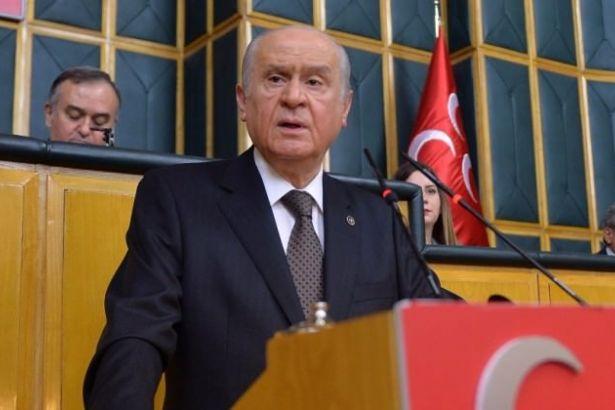 Bahçeli'den HDP binalarına saldırı açıklaması