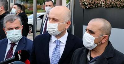 Bakan Karaismailoğlu: En kısa zamanda haydutların elinden vatandaşlarımızı kurtaracağız