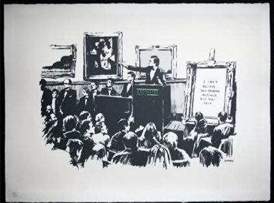 Banksy'nin sanat eserini yakıp dijital varlığa çevirdi