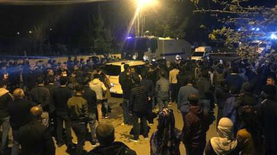 Batman M Tipi Cezaevi'nde tutuklular  koğuşu ateşe verdi