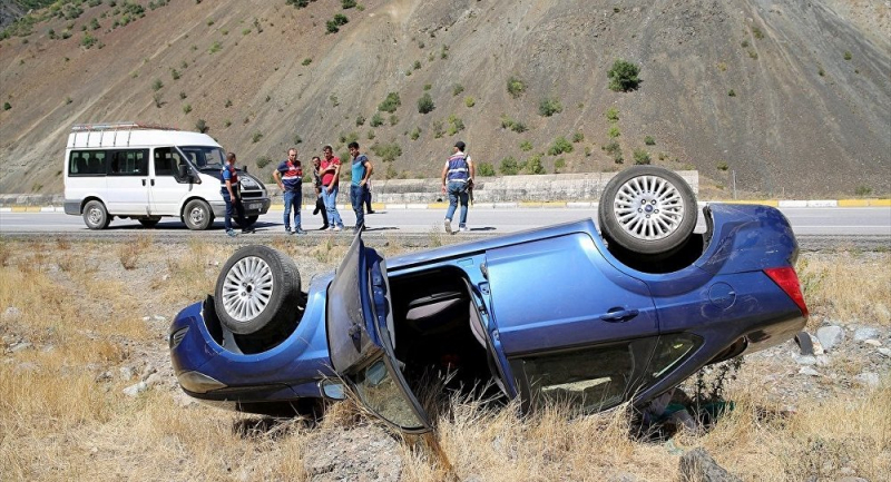 Bayram tatilinin kaza bilançosu: 83 ölü, 868 yaralı