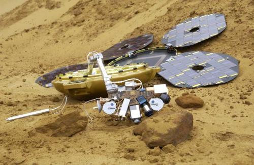Beagle 2 Mars'ta bulundu!