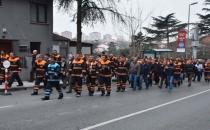 Beşiktaş Belediyesi temizlik işçileri eylemde!
