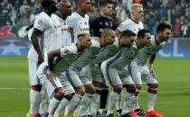 Beşiktaş'ın 11'i Türk futbol tarihine geçti