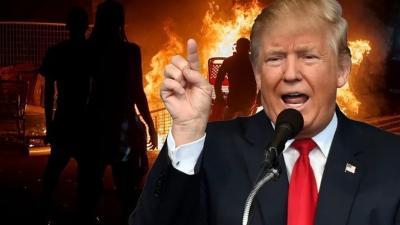 Beyaz Trump siyahları tehdit etti, Twitter Trump'a yaptırım uyguladı