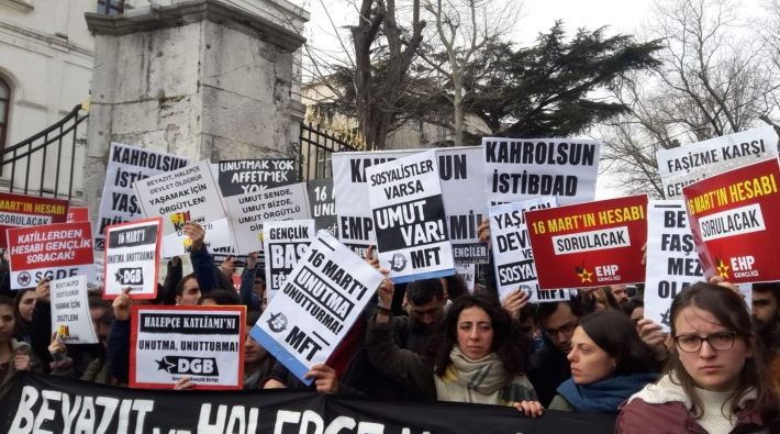 Beyazıt'ta eylem yapan öğrencilere polis müdahalesi: 33 gözaltı!