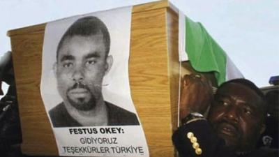 Beyoğlu Polis Merkezi'nde polis kurşunuyla ölen Nijeryalı davası AYM'de