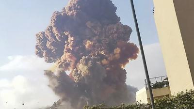 Beyrut'taki patlamada 70 kişi hayatını kaybetti, yaklaşık 3 bin 700 yaralı var