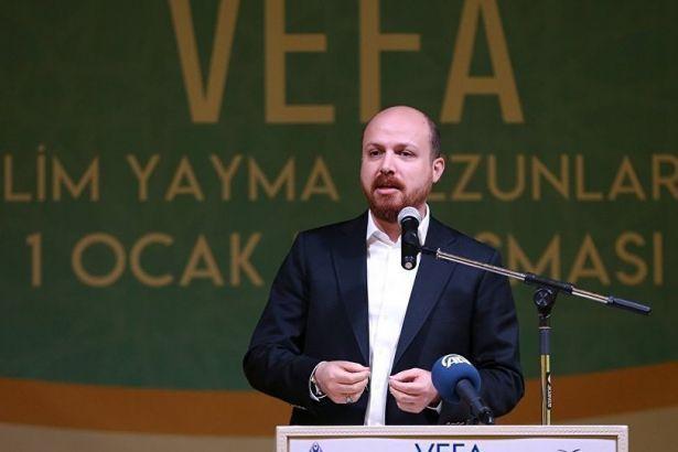 Bilal Erdoğan: Başka yerde hata ve sorun görmeye artık son verin
