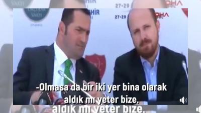 """Bilal Erdoğan ile Beyoğlu Belediye Başkanı olan Yıldız arasındaki """"Dönüşümden bir iki bina kalsa yeter"""" sohbetine erişim engeli"""