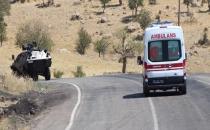 Bingöl'de askeri aracın geçisi sırasında patlama! 1 asker hayatını kaybetti..