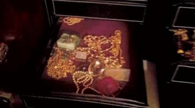 Bir dairede bulunan 'hazineye' yargı kararıyla el kondu