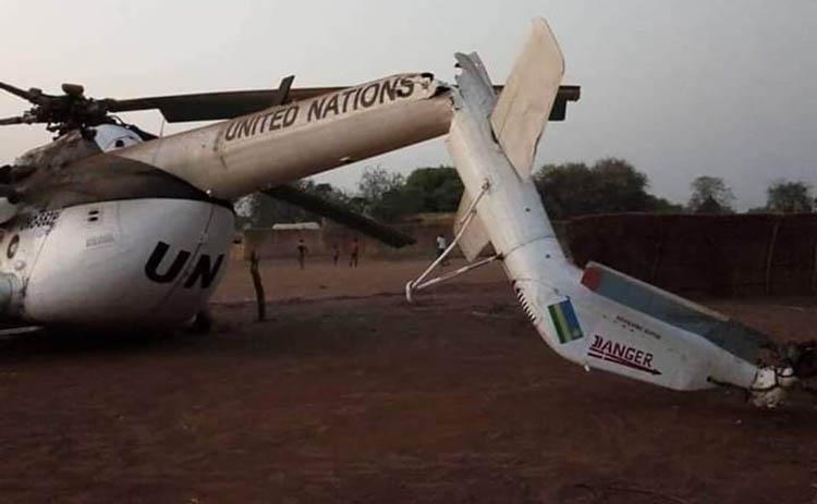 BM helikopteri düştü: 20 asker yaralı