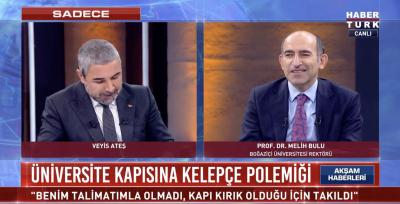 Boğaziçi Üniversitesi Rektörlüğü'ne atanan Melih Bulu açıklama yaptı