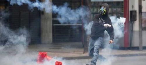 Brezilya'da grevdeki öğretmenlere sert  polis müdahalesi!