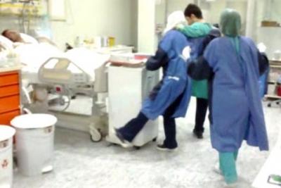 Burası hastane! Yoğun bakımda halay çekip göbek attılar!