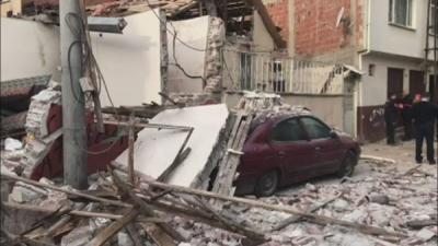 Bursa'da doğalgaz patlaması: 1 kişi hayatını kaybetti, 3 kişi yaralandı