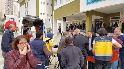 Bursa'da polis memuru veli, müdürü ve öğretmeni vurdu!