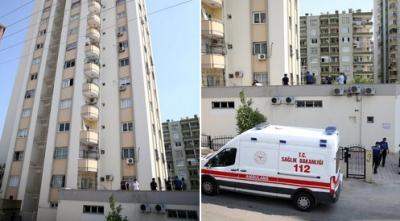 Cam silerken 11. kattan düşen kadın hayatını kaybetti