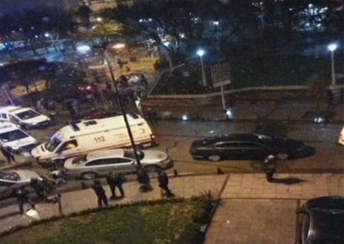 İstanbul'da canlı bomba eylemi!