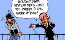 Carlos Latuff 'intiharı önleyen' Erdoğan'ı çizdi!