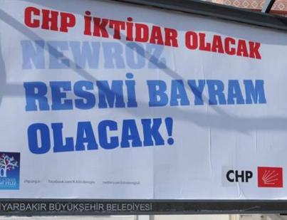 CHP'den Newroz açılımı!