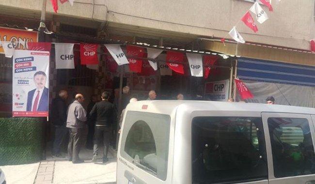 CHP seçim bürosuna silahlı saldırı