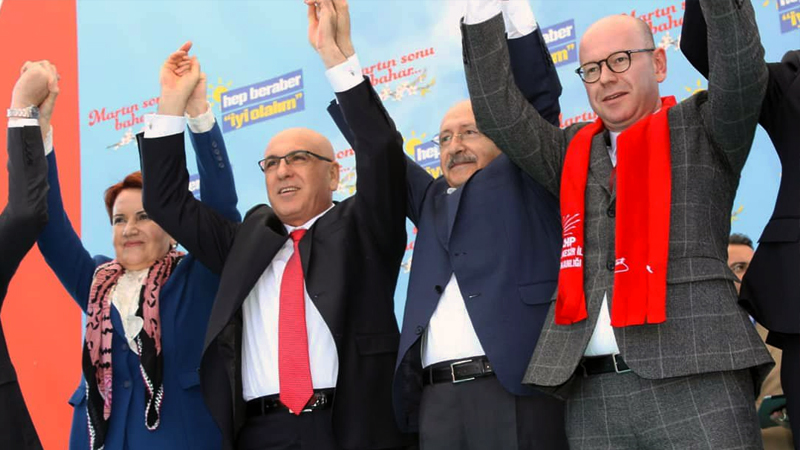 CHP ve İyi Parti'den ortak miting
