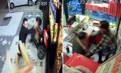 Çiğ köfte çalışanına saldıran 2 kardeş tutuklandı