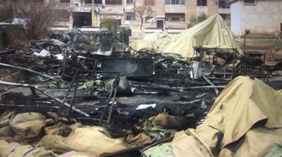 Cihatçılar Suriye'de halka yardım için kurulan hastaneye saldırdı: Ölü ve yaralılar var