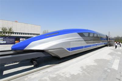 Çin, saatte 600 kilometre hızla gidecek treni tanıttı