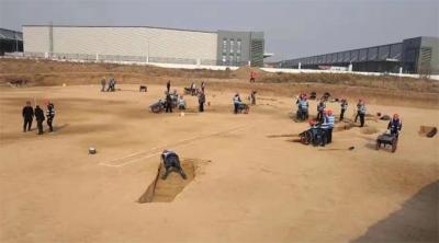 Çin'de en az 3 bin 500 antik mezar bulundu