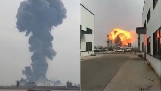 Çin'de fabrikada patlama: 6 ölü, 30 yaralı